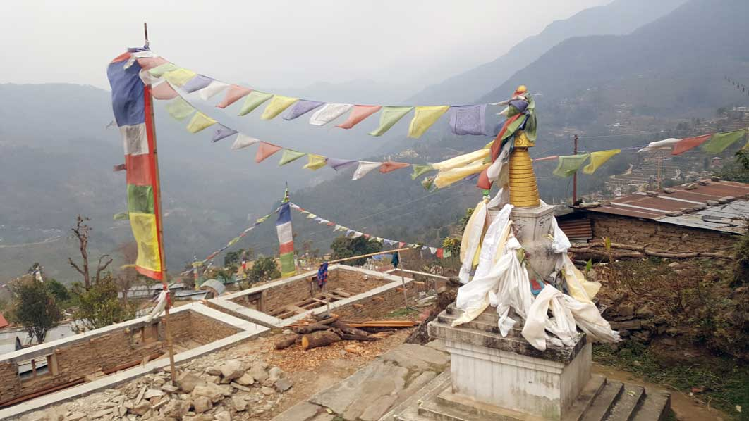Construction work, Nepal